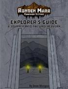Ronden Marr Explorer's Guide