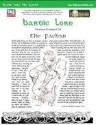 Bardic Lore: The Fachan