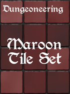 *Dungeoneering Presents* Maroon Tile Set