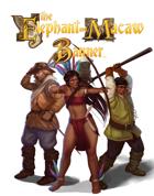 Adventurers of Fantasy Brazil token set (Elephant & Macaw Banner)