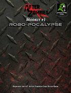 After Zombies Mod Kit 1: Robo-pocalypse
