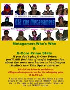 D12 the Metagame G-Core Who's Who