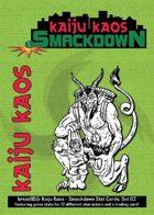 Kaiju Kaos: Smackdown Stat Cards, Set 02
