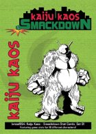 Kaiju Kaos: Smackdown Stat Cards, Set 01
