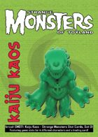 Kaiju Kaos: Strange Monsters of Toyland Stat Cards, Set 01