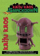 Kaiju Kaos: Robot Stat Cards, Set 01