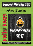 Kaiju Kaos: Drawlloween 2017 Stat Cards