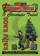 Kaiju Kaos: War in Christmas Village Stat Cards, Set 03