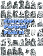 Weirdo Character Portrait Pack #1
