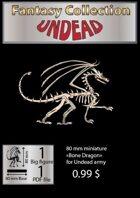 Fantasy Collection Bone Dragon