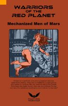 Mechanized Men of Mars