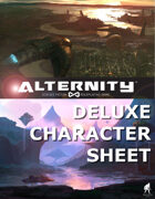 Alternity Deluxe Character Sheet