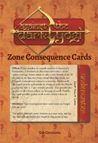 Against the Dark Yogi: Zone Consequence Cards