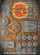 Shadows Over Sol: Stillwater Poster Map