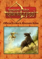 Against the Dark Yogi: Errata & Alternate Rules