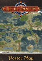 Age of Ambition: Trystell Poster Map