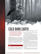 Cold Dark Earth