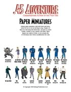 .45 Adventure Paper Miniatures