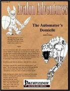 Avalon Adventures, Vol 3, Issue #3, The Automator's Domicile