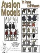 Avalon Models, Evil Wizard,Tri-Fold