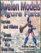 Avalon Models, Heroes and Villains  4