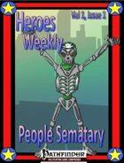 Heroes Weekly Vol 1, Issue #1, People Sematary