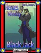 Heroes Weekly, Vol 1, Issue #2, Blackjack
