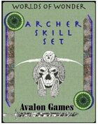 Archer Skill Set