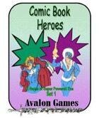 Comic Book Heroes, Set #1, Mini-Game #25