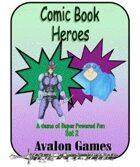 Comic Book Heroes, Set #2, Mini-Game #28