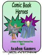 Comic Book Heroes, Set #4, Mini-Game #34