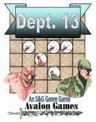 Dept. 13, Monster Hunters, Mini-Game #68