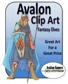 Avalon Clip Art, Fantasy Elves