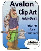 Avalon Clip Art, Fantasy Dwarfs