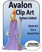 Avalon Clip Art, Fantasy Undead