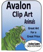 Avalon Clip Art, Animals
