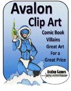 Avalon Clip Art Sets, Comic Book Villains