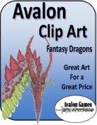 Avalon Clip Art, Dragons