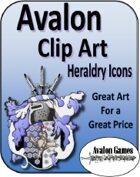 Avalon Clip Art Sets, Heraldry Icons
