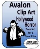 Avalon Clip Art Sets, Hollywood Horror
