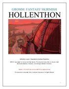 Hollenthon, Issue 1