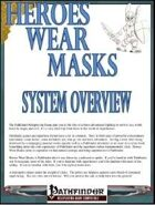 Heroes Wear Masks Preview #1