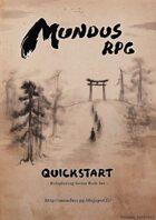 Mundus RPG - Quickstart