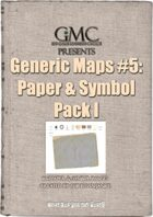 Generic Maps #5: Paper & Symbol Pack I
