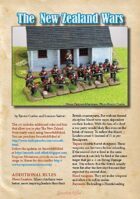 New Zealand Wars Supplement