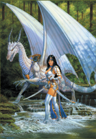 Larry Elmore's Caylinn's Journey Poker Deck