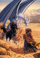Larry Elmore's Shadow Steed Poker Deck