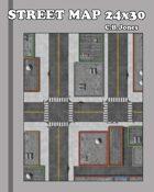 Street Map 24x30