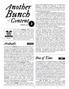 Another Bunch of Content Issue 2 December 2014