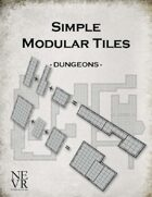 Simple Modular Tiles - Dungeons